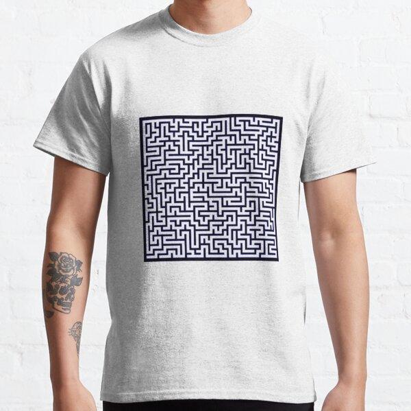 Maze 30x30 Black Classic T-Shirt