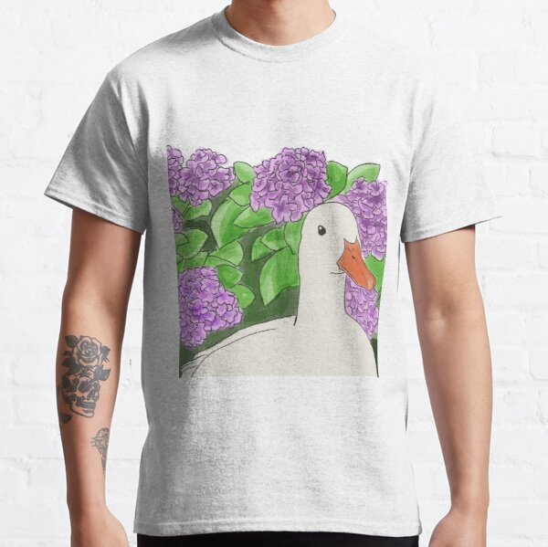 Duck in Lilac Classic T-Shirt