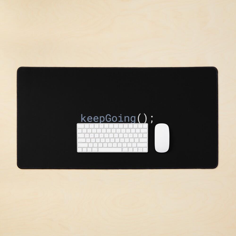 JavaScript - Keep Going Mouse Pad