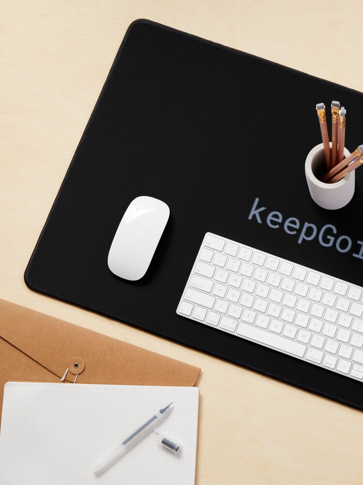 Alternate view of JavaScript - Keep Going Mouse Pad