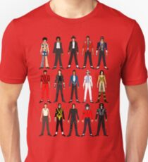Outfits of King Jackson Pop Music Fashion T-Shirt