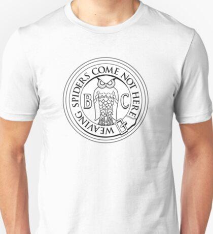 Bohemian Grove Owl Logo - Black & White T-Shirt
