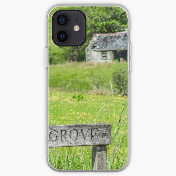 Cabin in the countryside, County Argyll, Scotland iPhone Soft Case