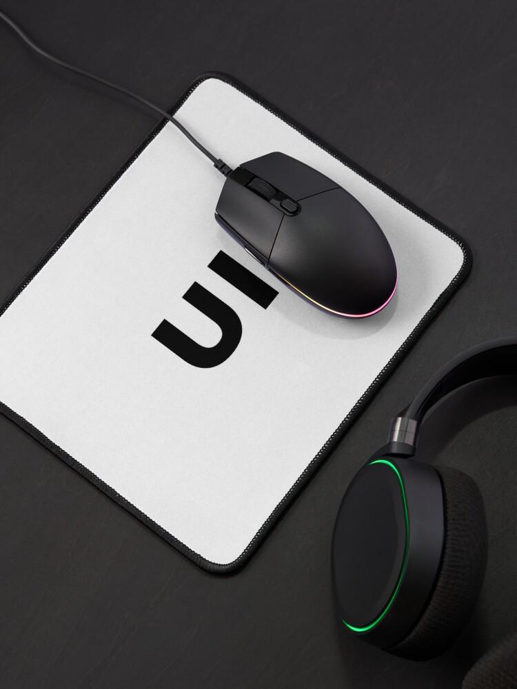 Alternate view of UI (User Interface) Designer Developer (inverted) Mouse Pad