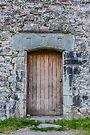 Castle door, Kilchurn Castle, Scotland by Beth A.  Richardson