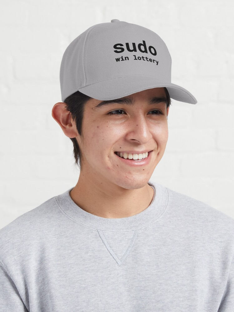 Alternate view of Sudo win lottery (Inverted) Cap