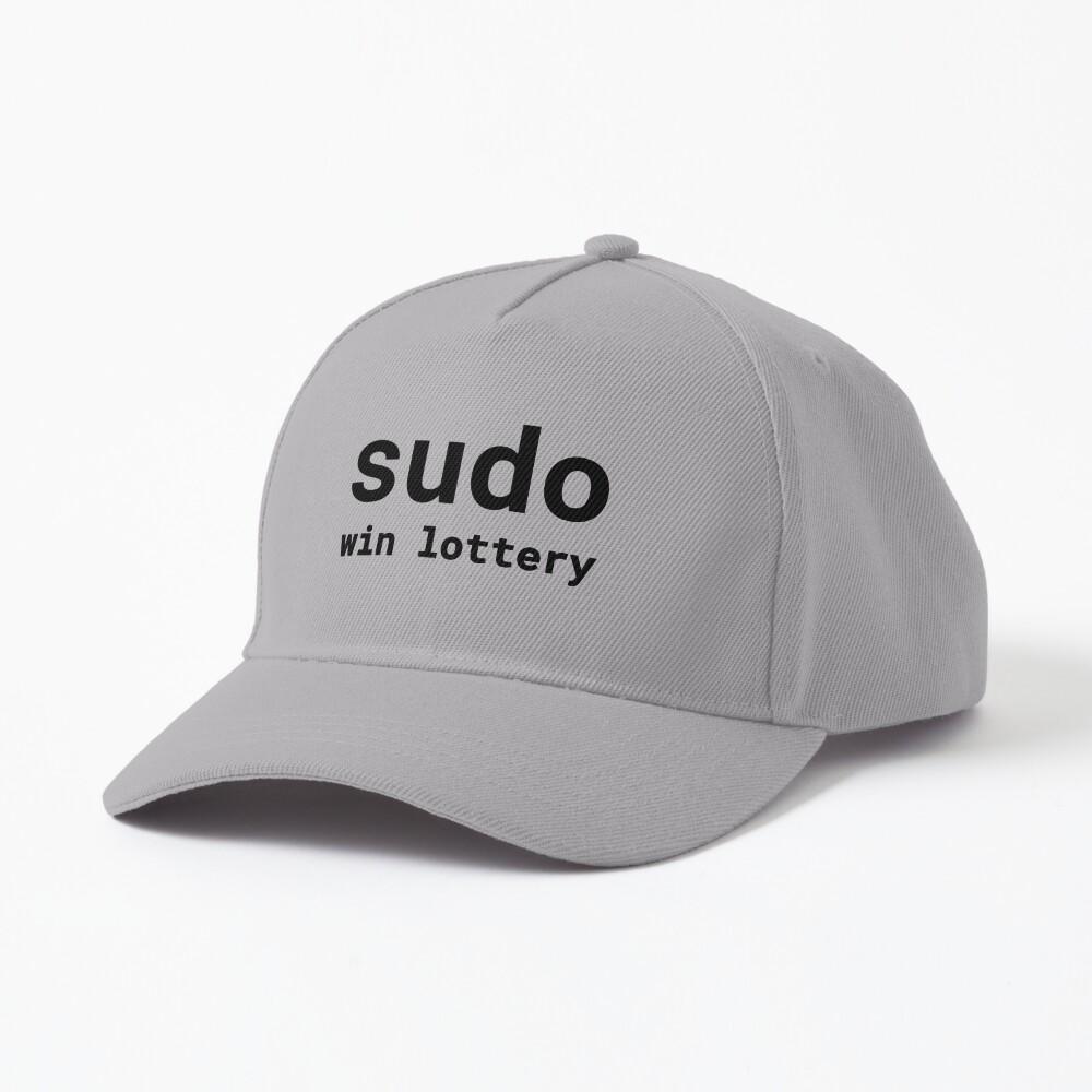 Sudo win lottery (Inverted) Cap