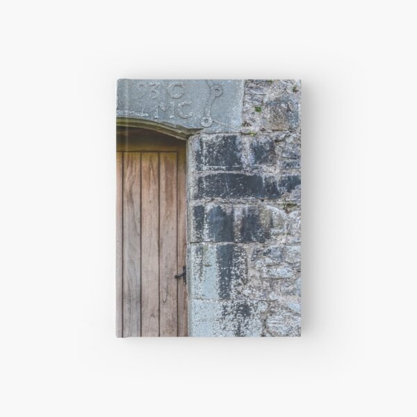Castle door, Kilchurn Castle, Scotland Hardcover Journal