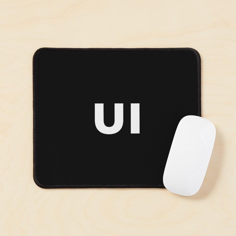 UI (User Interface) Designer Developer Mouse Pad