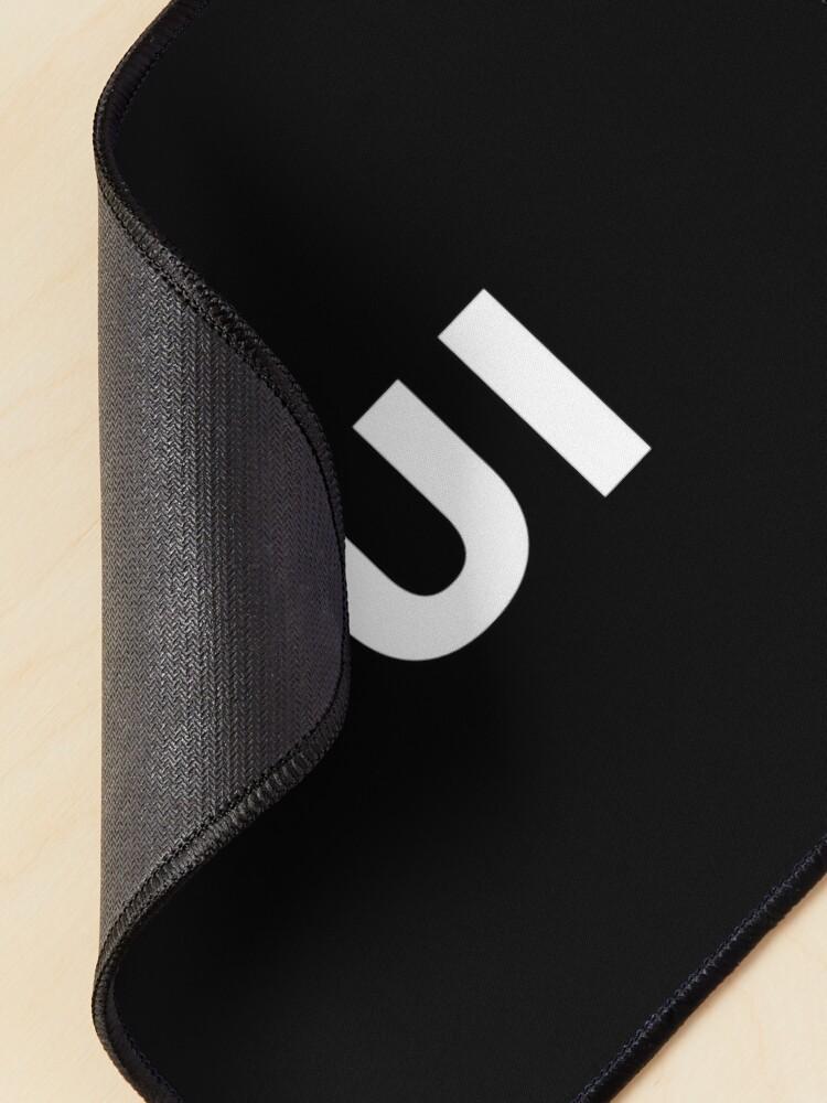 Alternate view of UI (User Interface) Designer Developer Mouse Pad