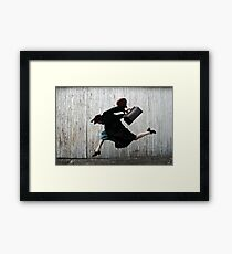 Silly Betty Gummble Framed Print