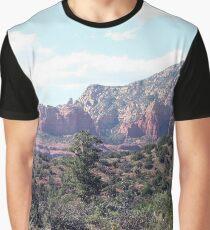 Rocks near Sedona, Arizona 6 Graphic T-Shirt