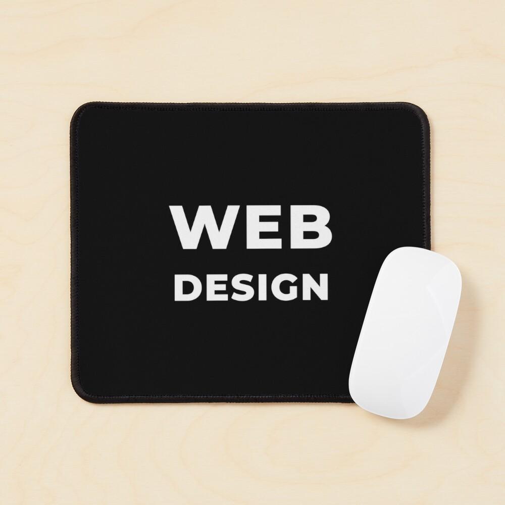 Web Design Mouse Pad