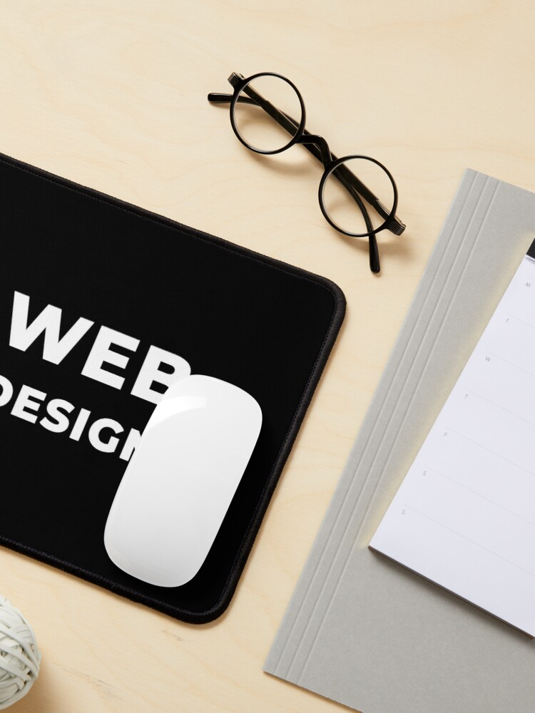 Alternate view of Web Design Mouse Pad
