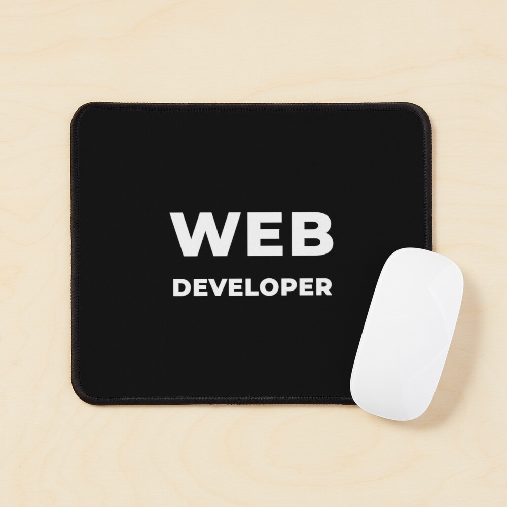 Web Developer Mouse Pad