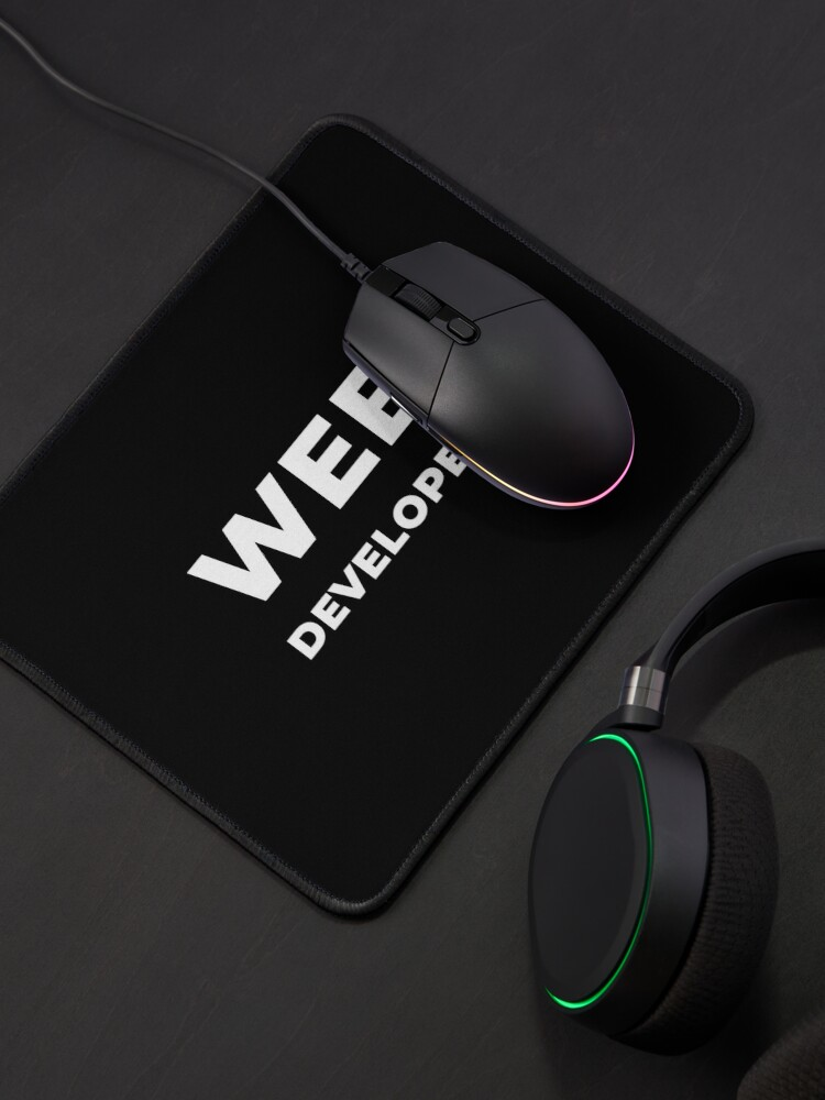 Alternate view of Web Developer Mouse Pad
