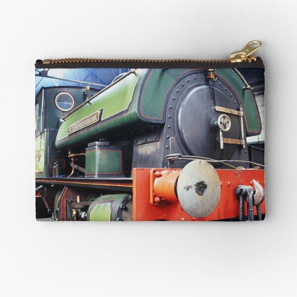 Steam engine - Sir Cecil A Cochrane Zipper Pouch