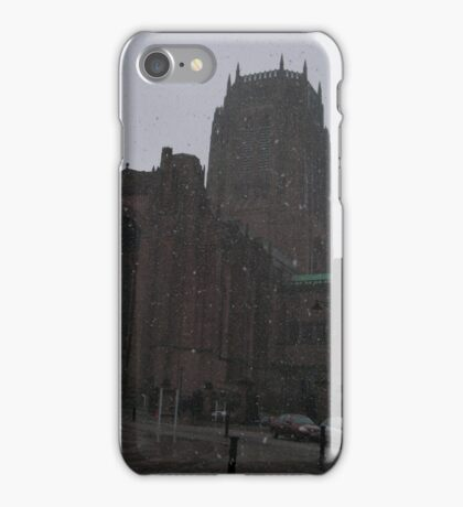 Snowy Cathedral iPhone Case/Skin