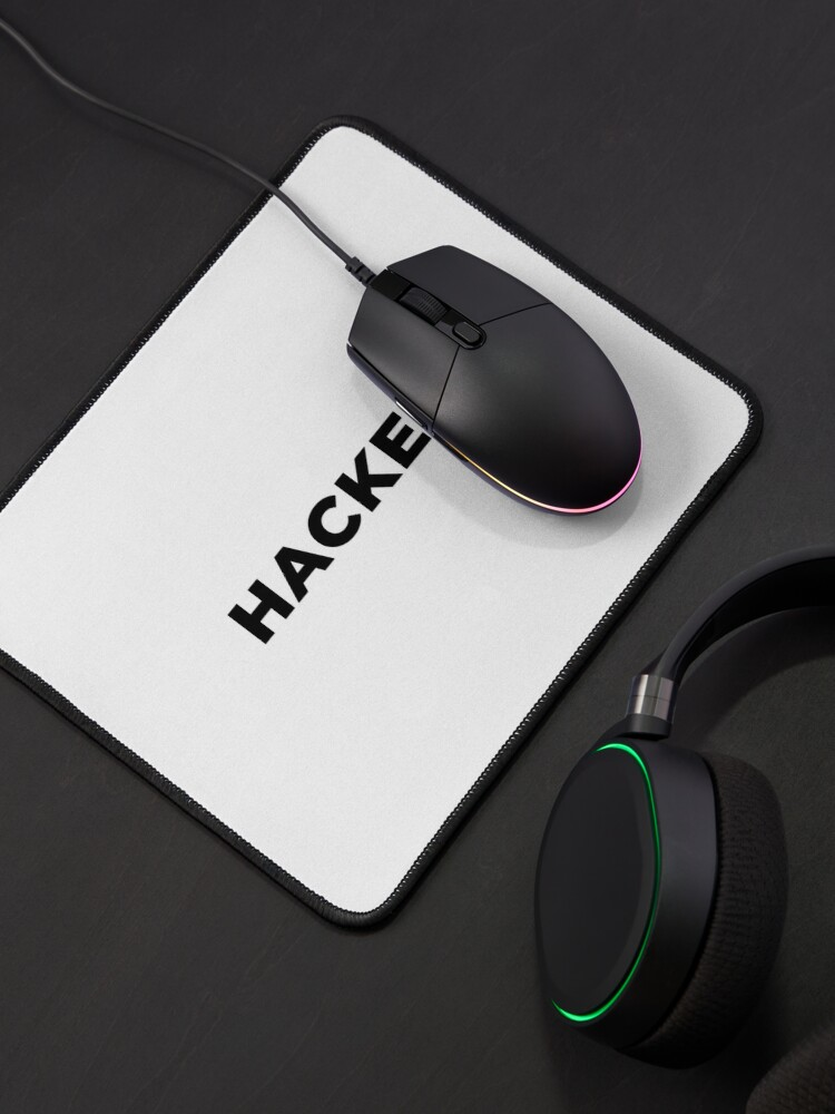 Alternate view of Hacker (Inverted) Mouse Pad