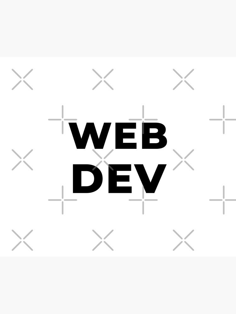 Web Dev (Inverted) by developer-gifts