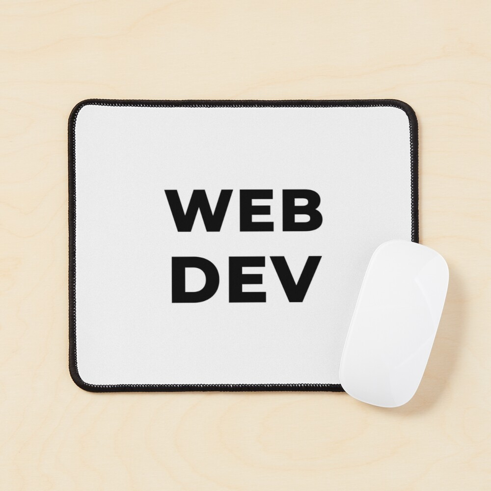 Web Dev (Inverted) Mouse Pad