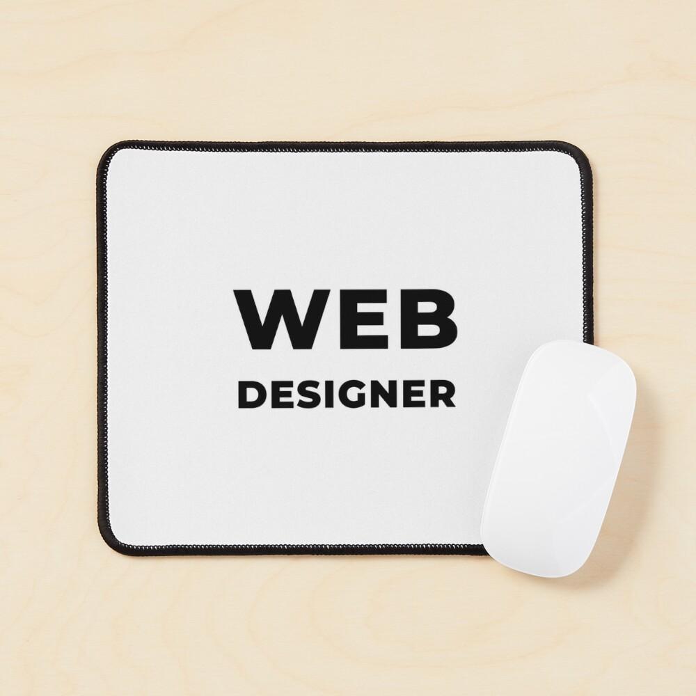 Web Designer (Inverted) Mouse Pad