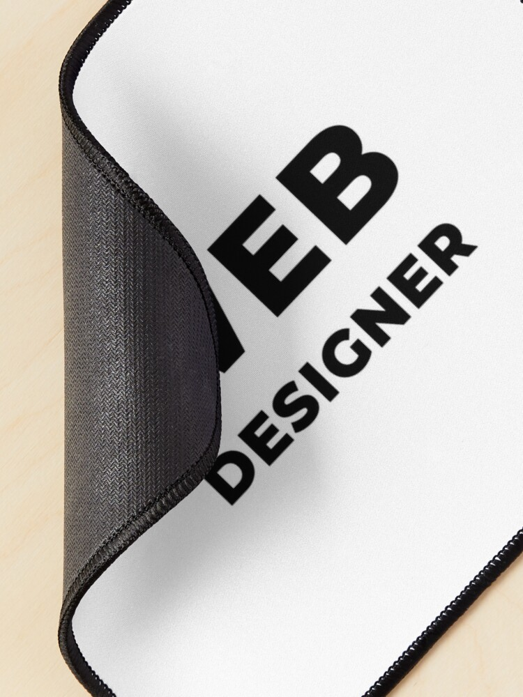 Alternate view of Web Designer (Inverted) Mouse Pad