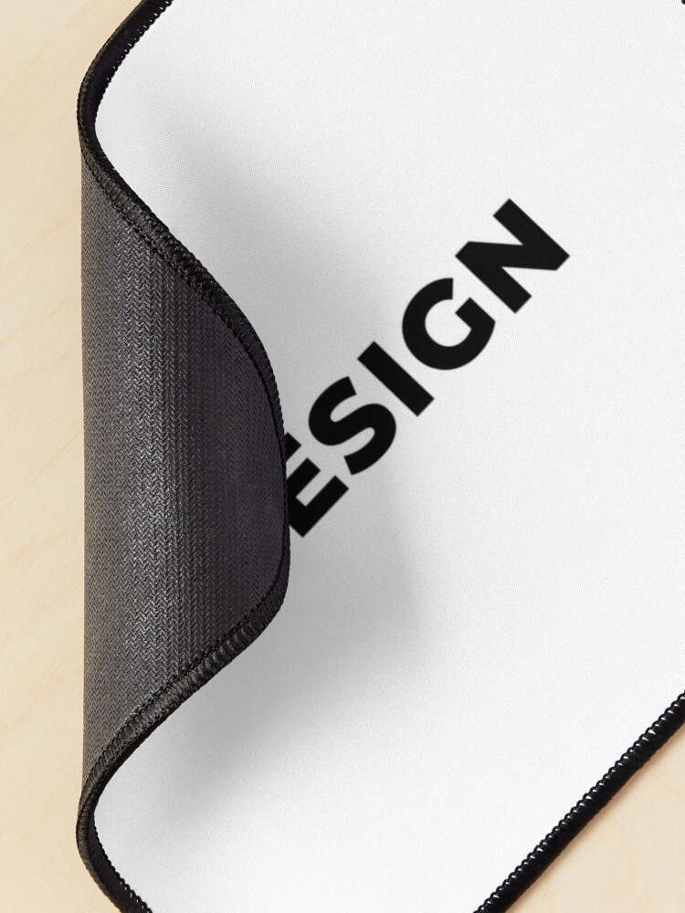 Alternate view of Design (Inverted) Mouse Pad