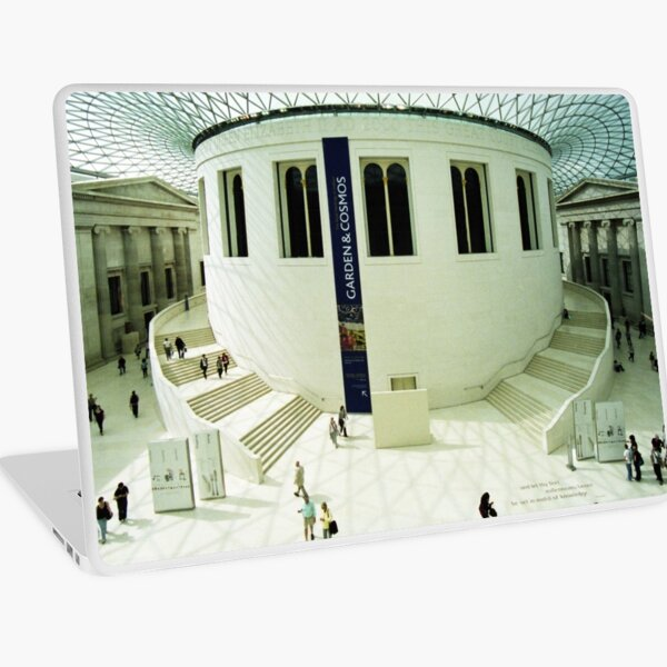 British Museum - the Great Hall Laptop Skin