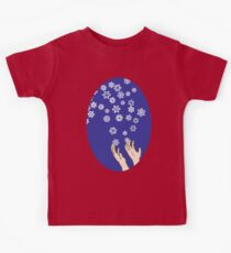 First Snow Night Snowflakes Kids Tee