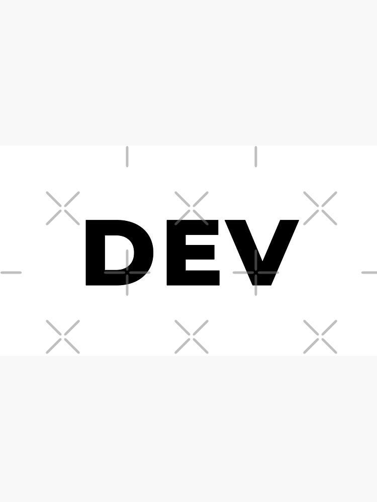 Dev (Inverted) by developer-gifts