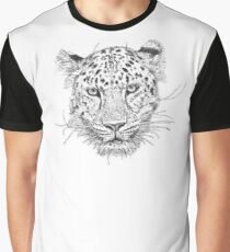 Cheetah Top Graphic T-Shirt