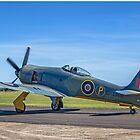 Hawker Fury F.1 G-CBEL SR661 by Colin Smedley