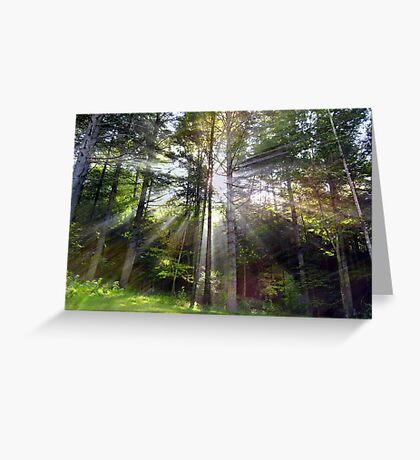 Blessed Light Greeting Card
