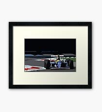 Damon Hill - Williams FW15C Framed Print