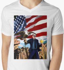 Ben Shapiro Thug Leben # 47 T-Shirt mit V-Ausschnitt