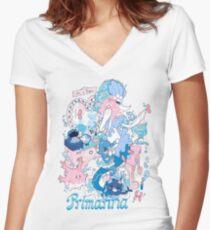 Starter's family: Primarina Women's Fitted V-Neck T-Shirt