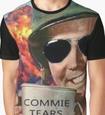 Commie Tears Graphic T-Shirt