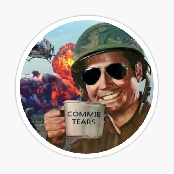 Commie Tears Sticker