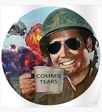 Commie Tears Poster