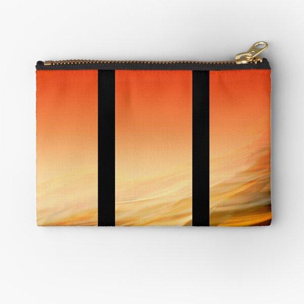 Desert Sand Zipper Pouch