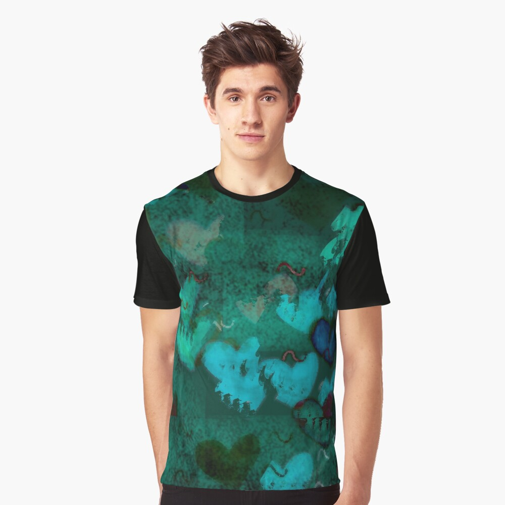 Abstract desing Graphic T-Shirt Front