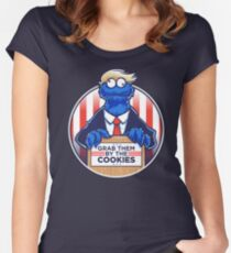 Grab Them By The Cookies Women's Fitted Scoop T-Shirt