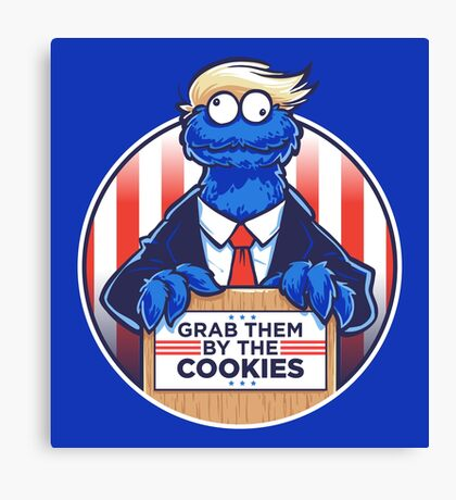 Grab Them By The Cookies Canvas Print