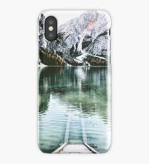 braies lake iPhone Case/Skin