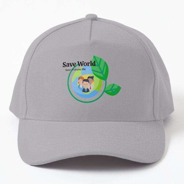Save world Baseball Cap