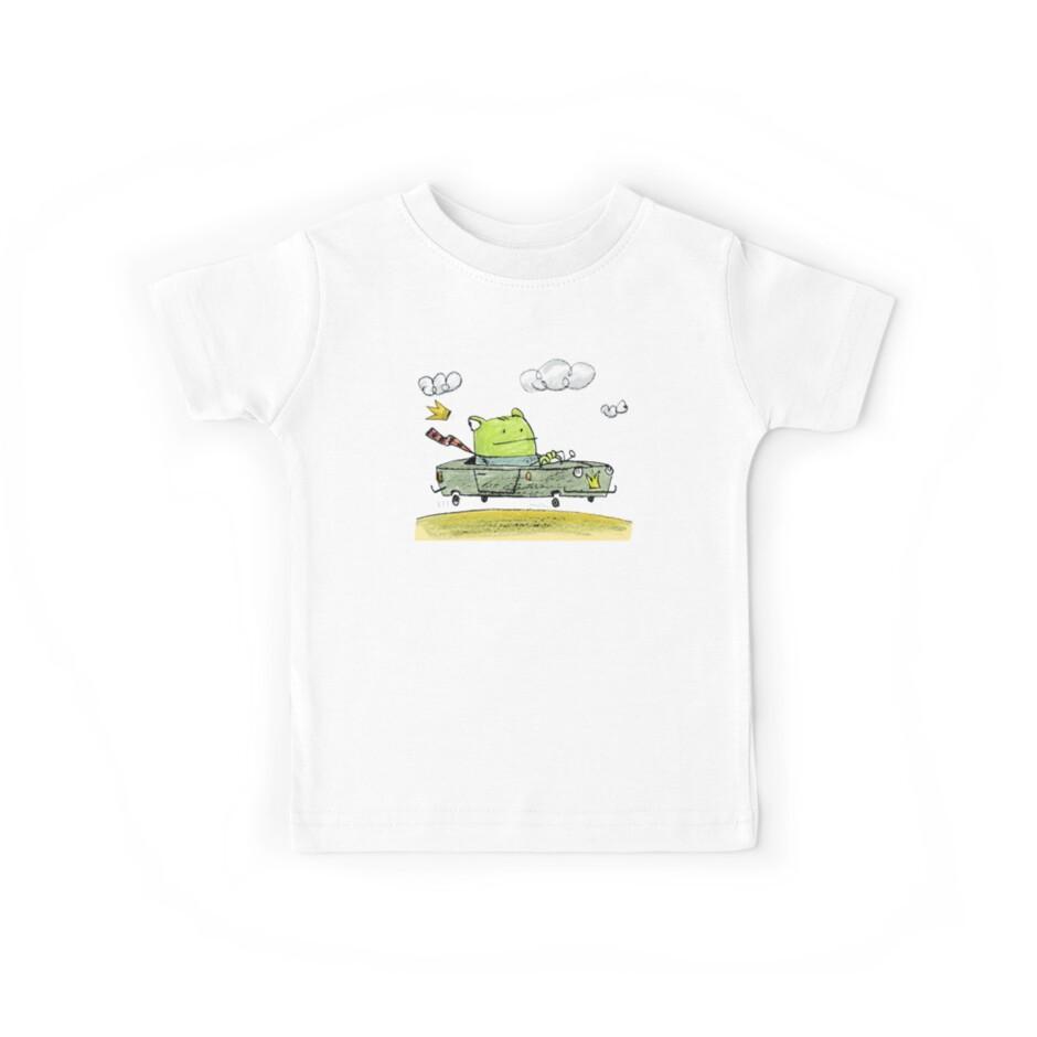 Froschkönig T-Shirt by Theo Kerp