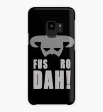 Skyrim- Fus-Ro-Dah!  Case/Skin for Samsung Galaxy