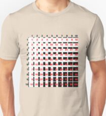 Times table Unisex T-Shirt