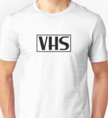 VHS Logo Black T-Shirt